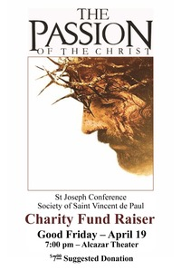 Charity Fundraiser: Passion of the Christ