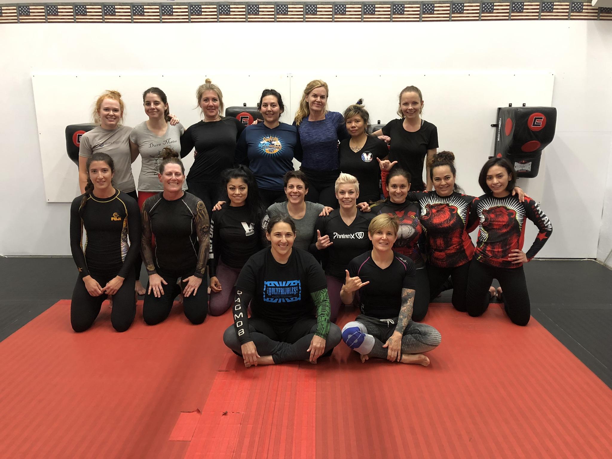 Jiu-Jitsu Women Classes