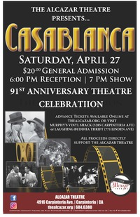 91st Anniversary Theatre Celebration and Casablanca Gala