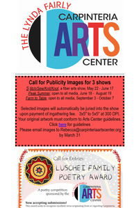 Carpinteria Arts Newsletter March 12, 2019
