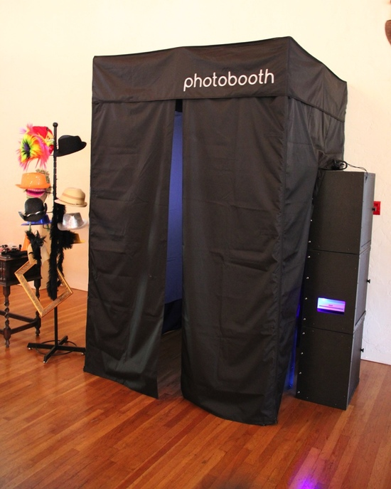 Photo Booth enclosed booth