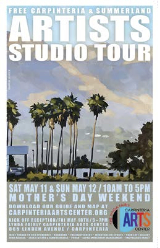 EVENT - 2019 ARTISTS STUDIO TOUR - POSTER