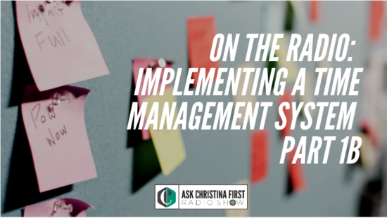 Radio: Implementing a Time Management System Pt. 1B