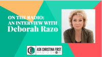 Radio: My Interview with Deborah Razo