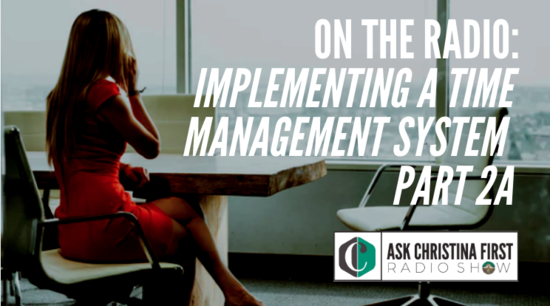 Radio: Implementing a Time Management System Pt. 2A