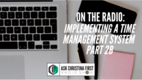 Radio: Implementing a Time Management System Pt. 2B