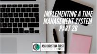 Implementing a Time Management System Pt. 2B