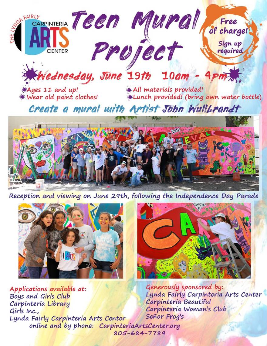 2019 Teen Mural Project