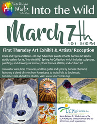 poster art of March 7th 2019 1st Thursday Arts Exhibition