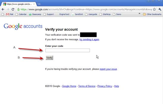 Create Google Account - 4