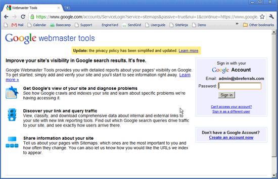 Google Merchant Verification - 3