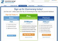 Zoomerang.com Pricing