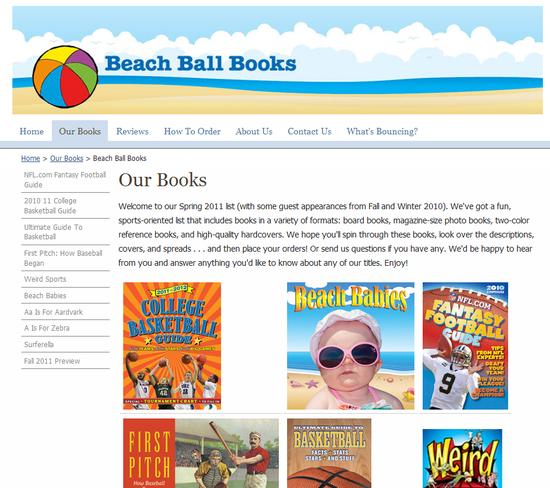 Beach Ball Books