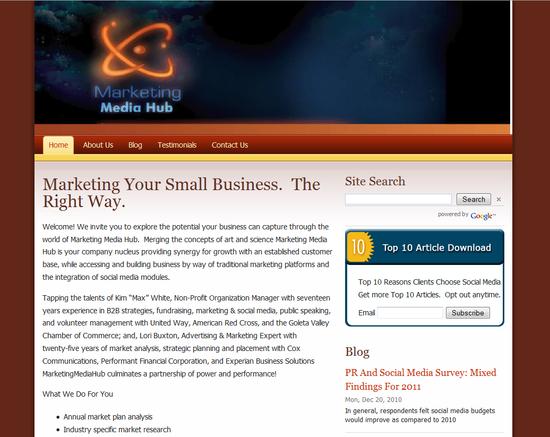 Marketing Media Hub