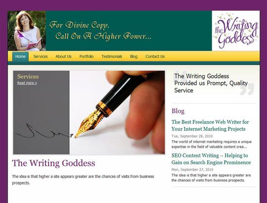 The Writing Goddess