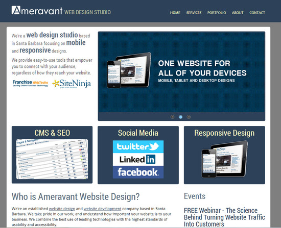 Ameravant Website Designers