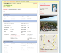 Real Estate Search - Property Details