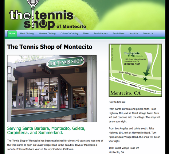 The Tennis Shop of Montecito