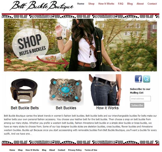 Belt Buckle Boutique