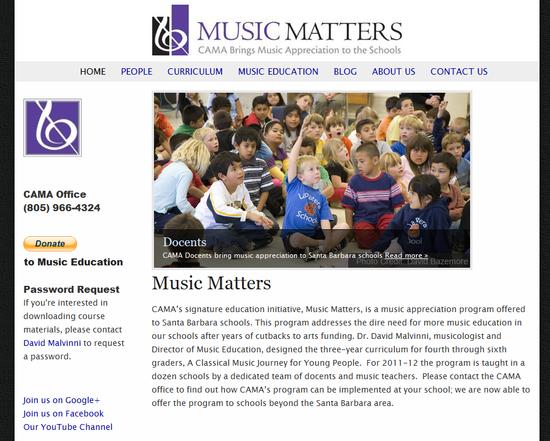 CAMA Music Matters