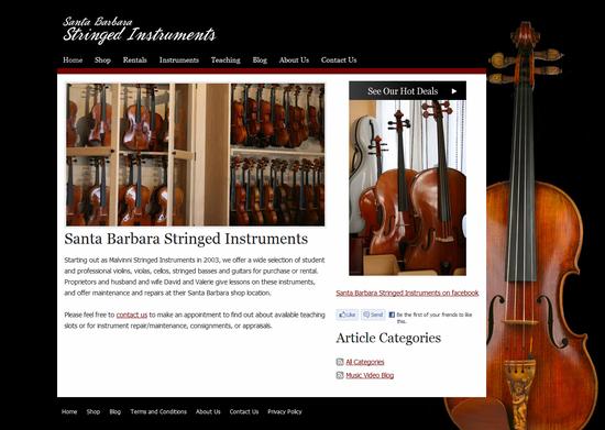 Santa Barbara Stringed Instruments