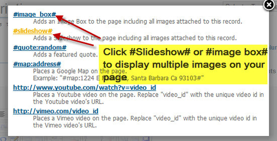 #5 Click Slideshow or Imagebox