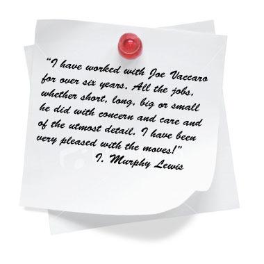 Testimonial I. Murphy Lewis