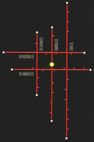 Underground Hair Artists Map