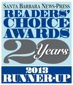 Readers Choice Runner Up 2013