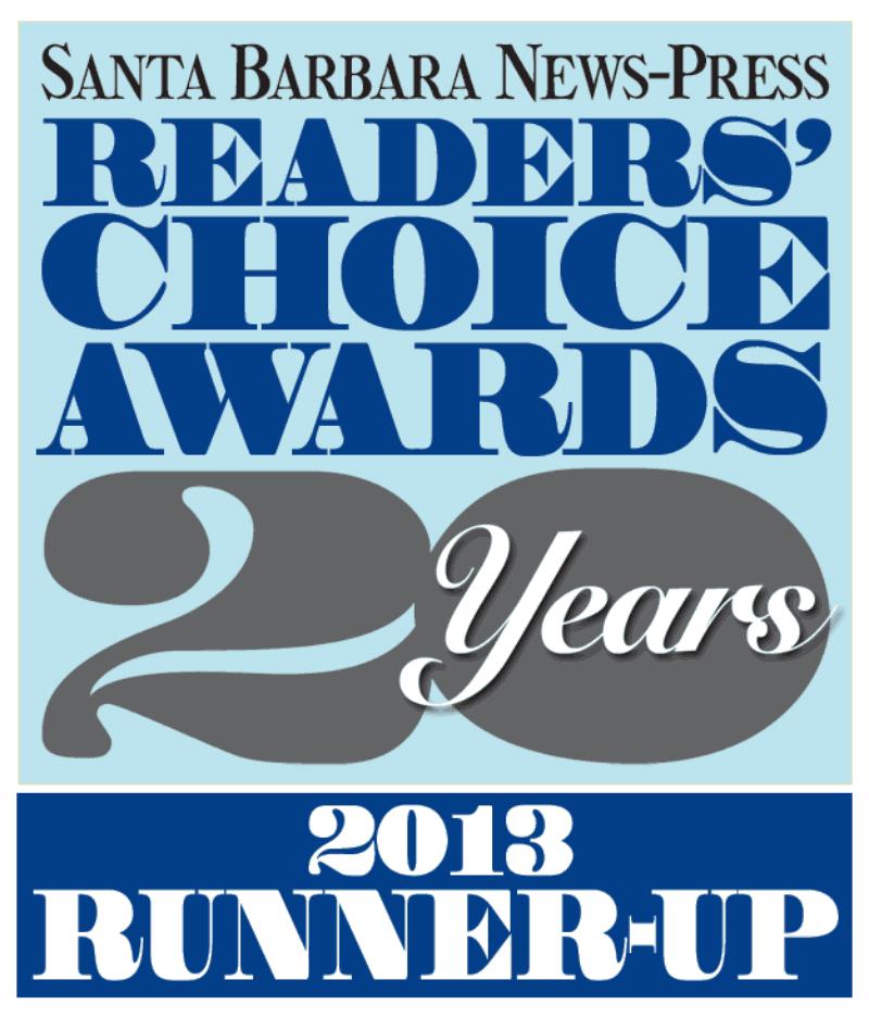 SBNewsPress Readers' Choice Runner Up 2013
