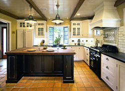 Traditional White Kitchen remodel in Santa Barbara CA