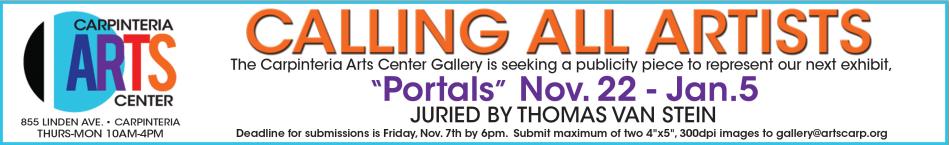 Calling Artists Portals Exhibit