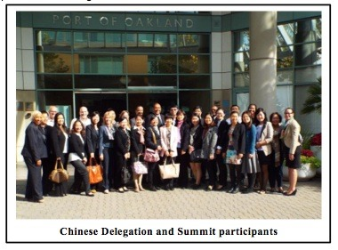 Chinese delegation group pic