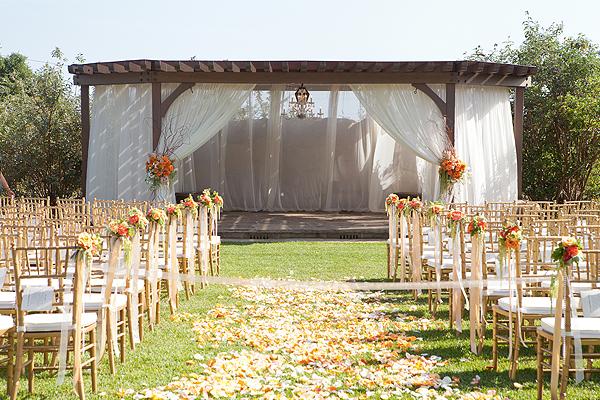 Santa Barbara Wedding Lighting