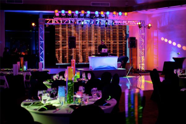 Santa Barbara Social Event Lighting