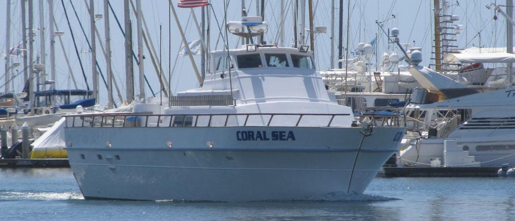 Coral Sea Boat