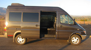 Golden Limo SB Luxury Van