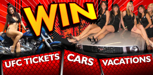 UFC Tickets - Win Cars and Vacations