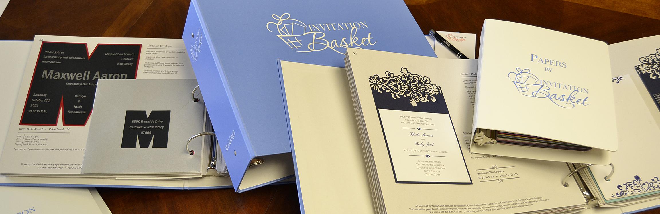 Albums invitation basket albums stopboris Gallery
