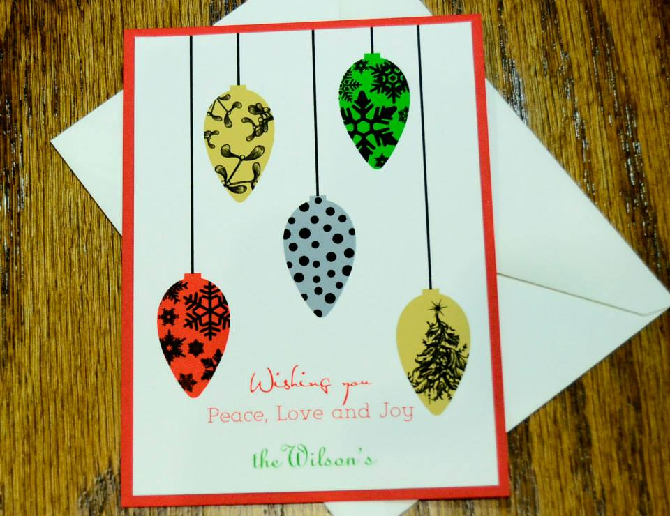 Christmas Card Sampling