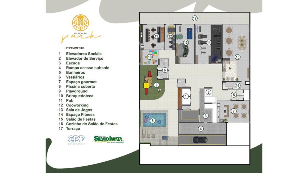 Implantação   Edifício Morada do Park