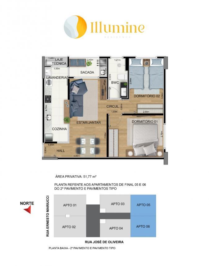Planta | Illumine Residence