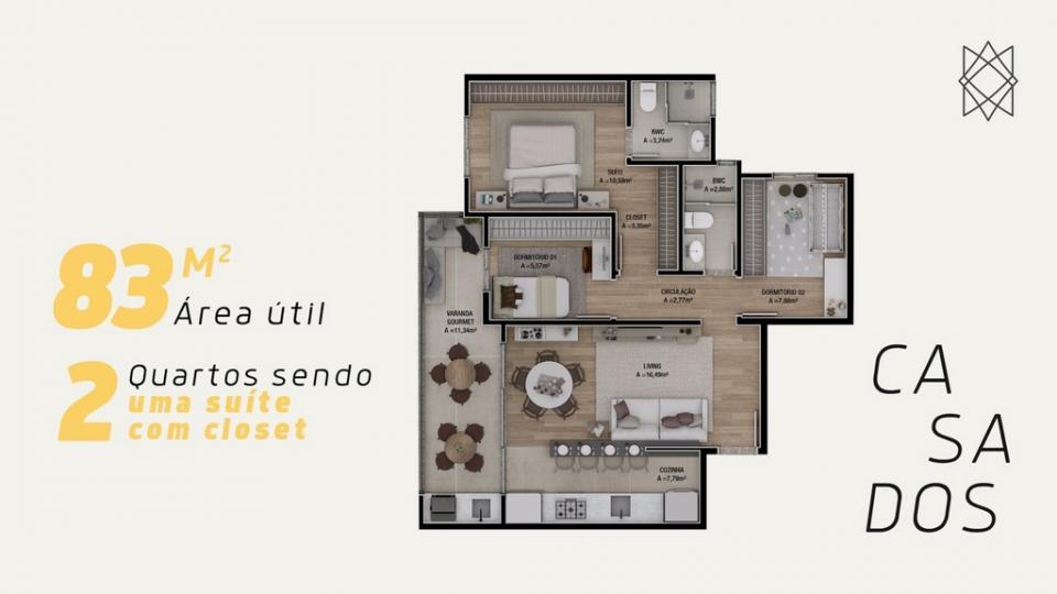 Planta | Sintra Residence