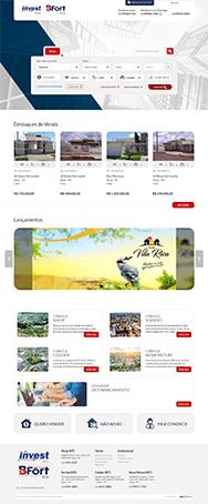 site imobiliária