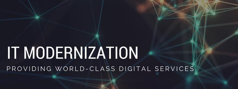 Banner image for IT modernization