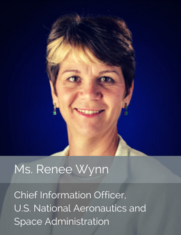 Official head shot of Ms. Renee Wynn, Chief Information Officer of the U.S. National Aeronautics and Space Administration