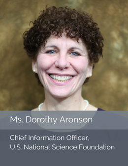 Official head shot of Ms. Dorothy Aronson, Chief Information Officer of the U.S. National Science Foundation