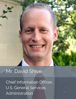 Official head shot of Mr. David Shive, Chief Information Officer of the U.S. General Services Administration