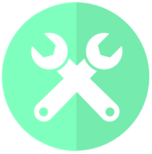 two wrenches icon