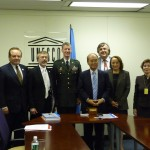 Photo from Signing Ceremony for Designation of ICIWaRM  as a UNESCO Category II Water Centre